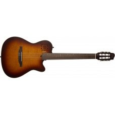 Godin 042180 - Multiac Encore Burnt Umber SG with Bag (Made in Canada)