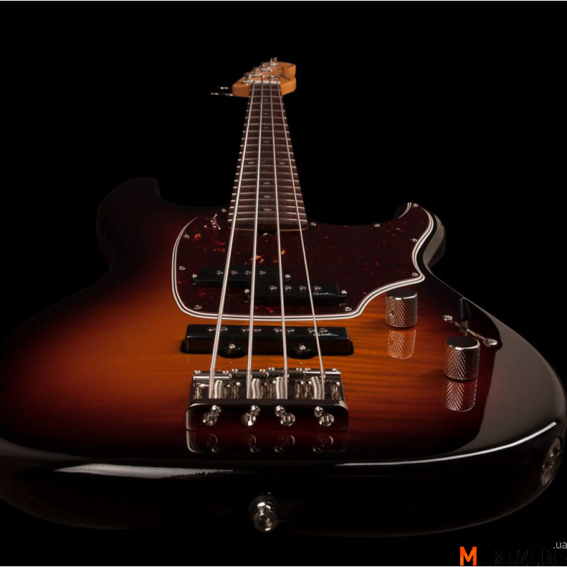 Бас-гитара Godin Shifter Classic 4 Vintage Burst Flame RN with Bag (Made in Canada - 046935)