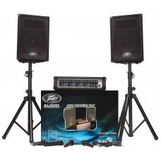 Peavey Audio Performer Pack Complete Portable PA System
