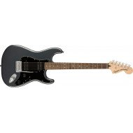 Электрогитара Fender Squier Affinity Series Stratocaster HH LR Charcoal Frost Metallic