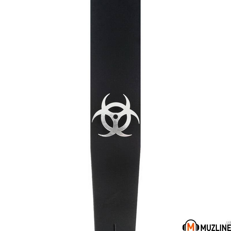Planet Waves PW25LBIO Icon Collection Guitar Strap, Biohazard