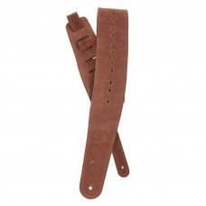 Planet Waves PW25PRF05 Vented Leather Guitar Strap, Honey Suede Apache