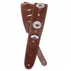Planet Waves PW25SSC01 Conchos Guitar Strap, Brown