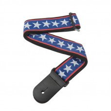 Ремень для гитары Planet Waves PW50A10 Woven Guitar Strap, Stars & Stripes