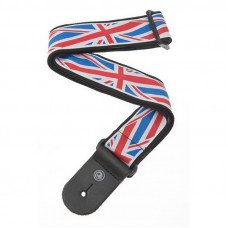 Ремень для гитары Planet Waves PW50A11 Woven Guitar Strap, Union Jack