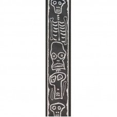 Planet Waves PW50JS01 Joe Satriani Guitar Strap Skull n Bones