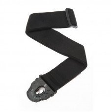 Planet Waves PW50PLA05 Planet Lock Guitar Strap, Black