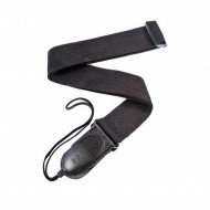 Planet Waves PWSPA200 Acoustic Quick Release Guitar Strap Black