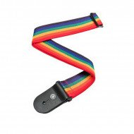 Ремень для гитары Planet Waves PWS111 Polypropylene Guitar Strap, Rainbow