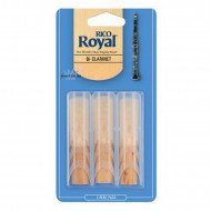 Трость Rico Rico Royal - Bb Clarinet #3.0 - 3-Pack
