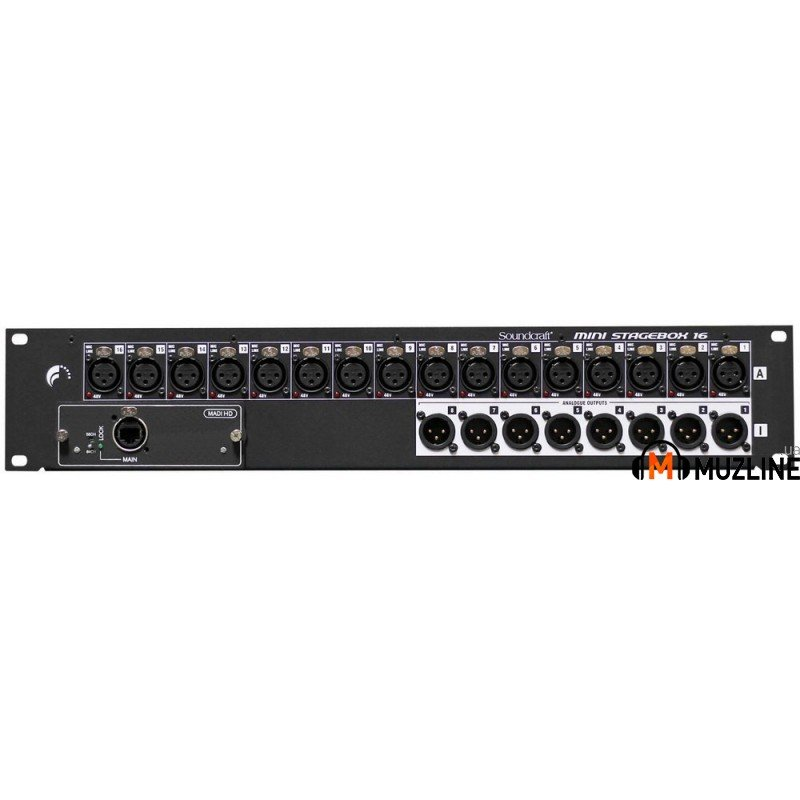 Стейджбокс Soundcraft MSB-16 Cat5 Mini Stagebox