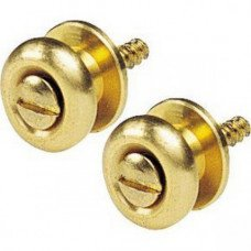 D'Andrea Guitar Buttons Gold EP-24G
