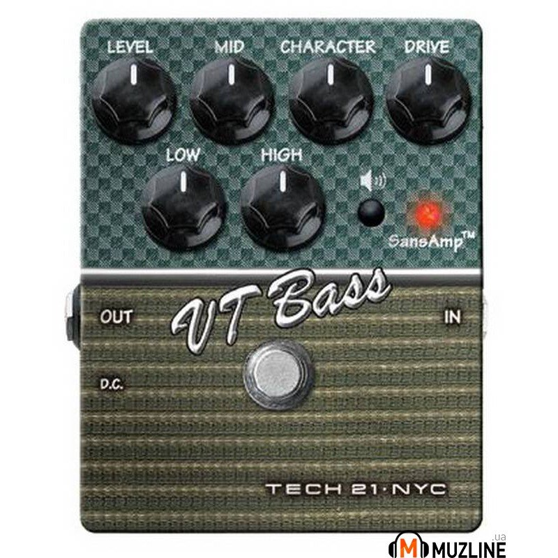 Гитарная педаль Tech 21 Character Series VT Bass