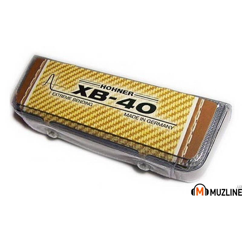 Губная гармошка Hohner Extreme Bending XB-40 C-major  M110101