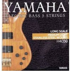 Yamaha H4050 Stainless Steel Medium Light 5 String 45-126