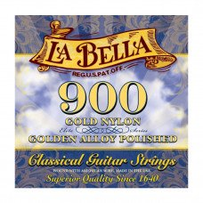 La Bella 900 Elite – Gold Nylon, Polished Golden Alloy