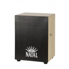 Natal Drums CJAN-XL-SW-BB Cajon Extra Large Black