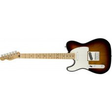 Fender Standard Telecaster Left-Handed Maple Fingerboard Brown Sunburst