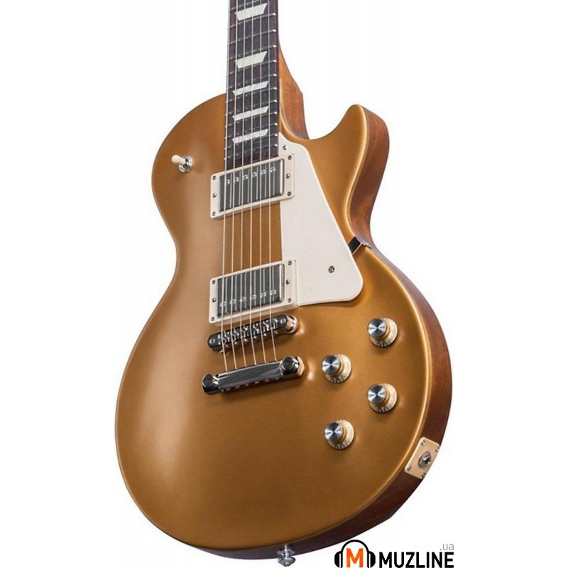 Электрогитара Gibson 2017 T Les Paul Tribute Satin Gold Top
