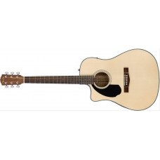 Электроакустическая гитара Fender CD-60SCE Left-Hand Natural
