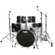 Ударная установка Natal Drums Arcadia Drum Kit Black Sparkle