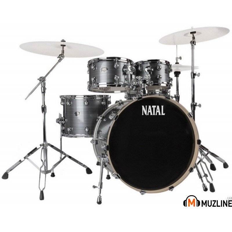 Ударная установка Natal Drums Arcadia Drum Kit Grey Strata