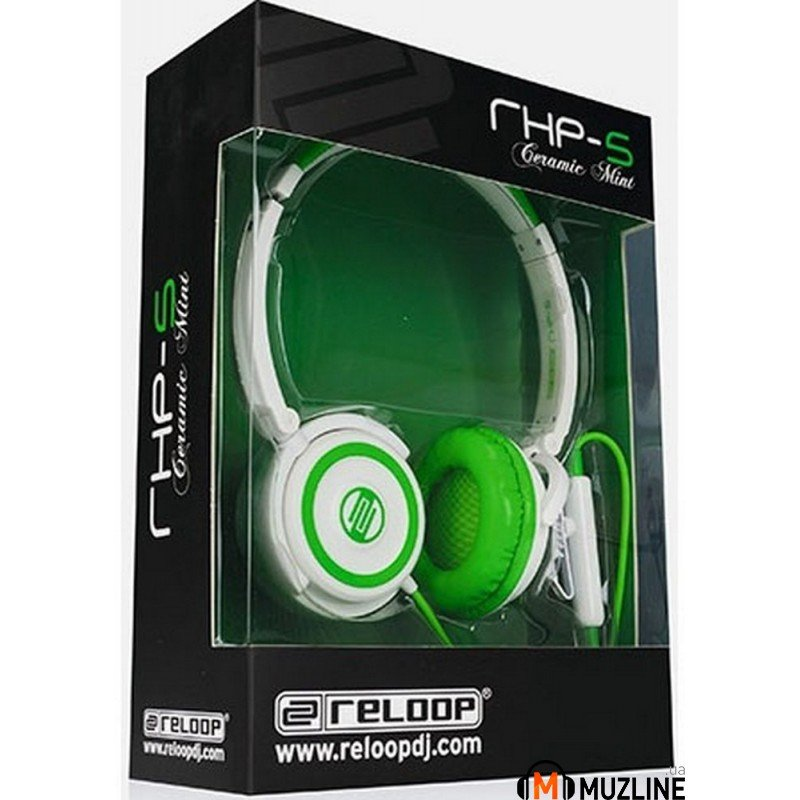 Наушники Reloop RHP-5 Ceramic Mint