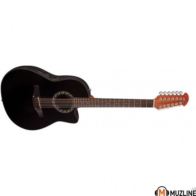 Электроакустическая гитара Ovation AB2412-5 Applause Balladeer BK