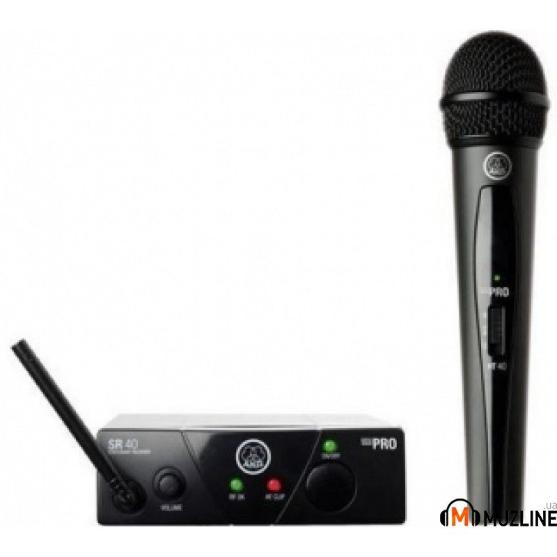 Радиосистема с ручным микрофоном AKG WMS40 Mini Vocal Set BD US25C