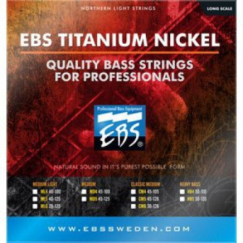EBS TN-MD 4-strings (45-100) Titanium Nickel