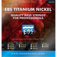EBS TN-MD 5-strings (45-125) Titanium Nickel