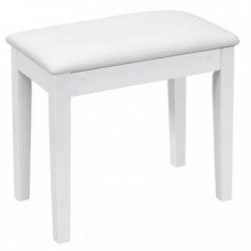 Orla Standard Piano Bench WHITE