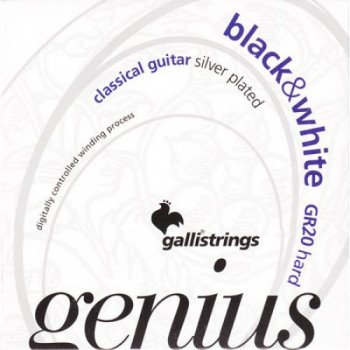 Galli Genius Black&White PROcoated GR20 Hard Tension