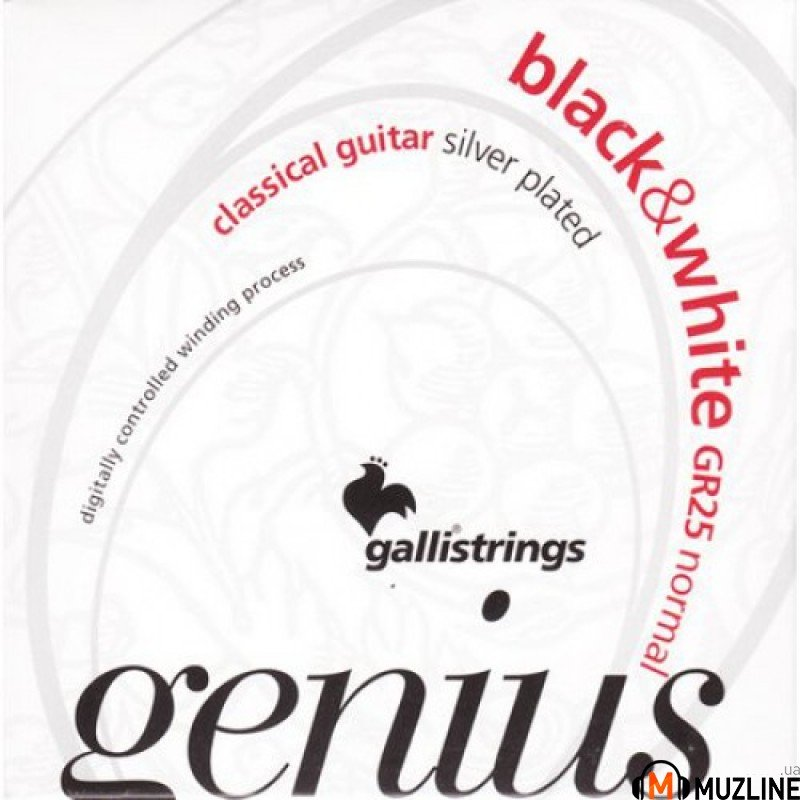Galli Genius Black&White PROcoated GR25 Normal Tension