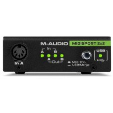 MIDI интерфейс M-Audio Midisport 2X2 Black