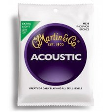 Martin M530 Traditional Acoustic 92/8 Phosphor Bronze Extra Light (10-47)