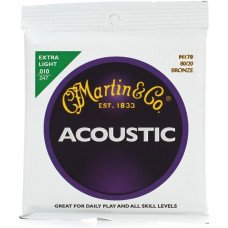 Martin M170X Traditional Acoustic 80/20 Bronze Extra Light (10-47)