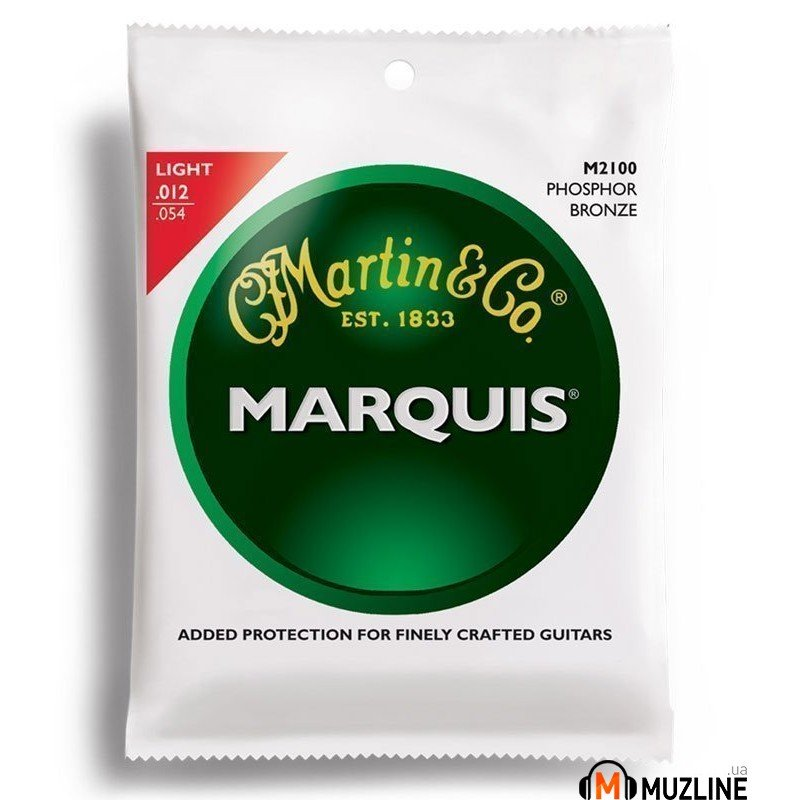 Martin M2100 Marquis 92/8 Phosphor Bronze Light (12-54)