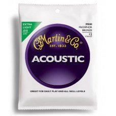 Martin M500 Traditional Acoustic 92/8 Phosphor Bronze Extra Light 12-String (10-47)