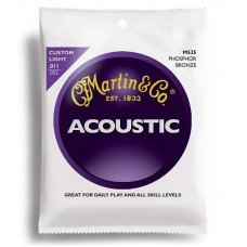 Martin M535 Traditional Acoustic 92/8 Phosphor Bronze Custom Light (11-52)