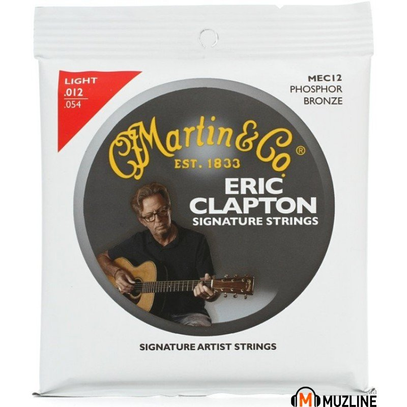 Martin MEC12 Clapton's Choice Phosphor Bronze Light (12-54)