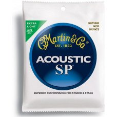 Martin MSP3000 SP Acoustic 80/20 Bronze Extra Light (10-47)