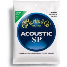 Martin MSP4000 SP Acoustic 92/8 Phosphor Bronze Extra Light (10-47)