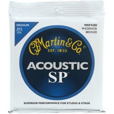 Martin MSP4200 SP Acoustic 92/8 Phosphor Bronze Medium (13-56)