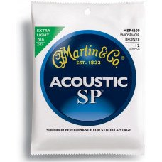 Martin MSP4600 SP Acoustic 92/8 Phosphor Bronze Extra Light 12 String (10-47)
