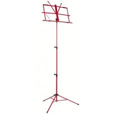 RockStand RS10010R/B Standard Note Stand Red