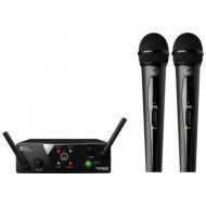 Радиосистема с ручным микрофоном AKG WMS40 Mini 2 Vocal Set BD US45A/C EU/US/UK