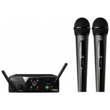 Радиосистема с ручным микрофоном AKG WMS40 Mini 2 Vocal Set BD US25A/B