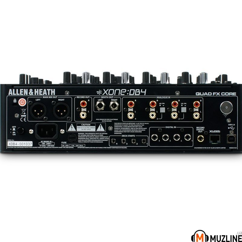 DJ микшер Allen Heath XONE:DB4
