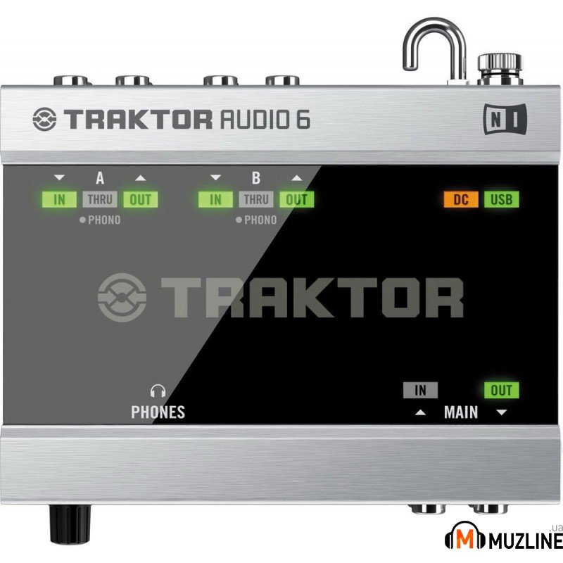 USB звуковая карта Native Instruments Traktor Scratch A6